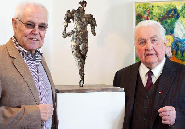 Joe F. Bodenstein mit Hermann Schäfer